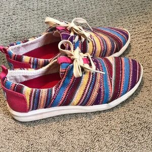 TOMS Multi Blanket Stripe Del Ray Sneakers